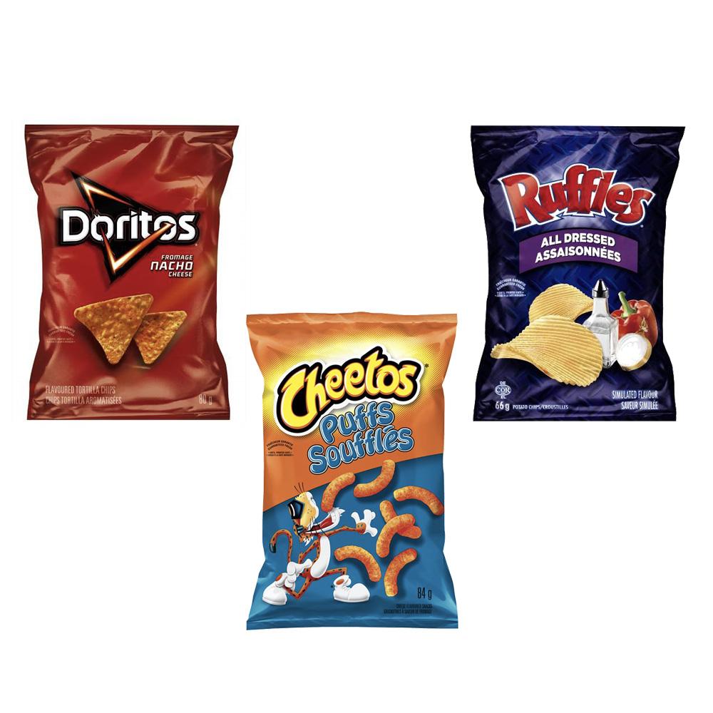 ruffles doritos chips promo